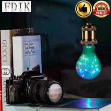 85-265V LED filament bulb E27 A80 colorful romantic decorated Party or holiday bedroom livingroom decoration holiday party li(China)