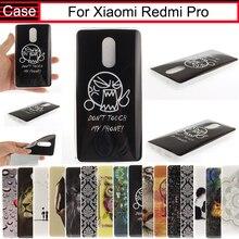 Чжурчжэней silicone case для xiaomi redmi pro prime case тпу luxury мультфильм печати симпатичные case для xiomi xiaomi redmi pro case 5.5″