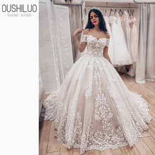 Lovely Tulle Ball Gown Wedding Dress 2019 New Sweetheart Lace Appliques Off Shoulder Court Train Princess Church Bridal Dresses lovely tulle ball gown wedding dress 2019 new sweetheart lace appliques off shoulder court train princess church bridal dresses