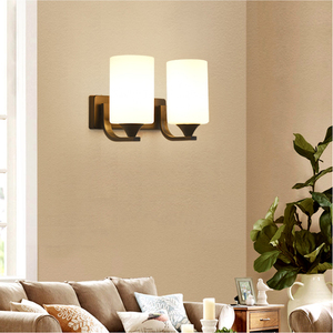 Image 4 - HGhomeart Vintage Wall Light Luminaria Bedside Reading Lamp LED E27 bulb Retro Wall Lamp Bedroom Wall Lighting Contemporary