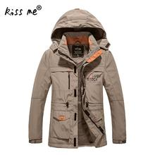 jaqueta masculina men's casual thick outwear overcoat Winter jacket Men Windproof Hood parka mens jackets and coats windbreaker