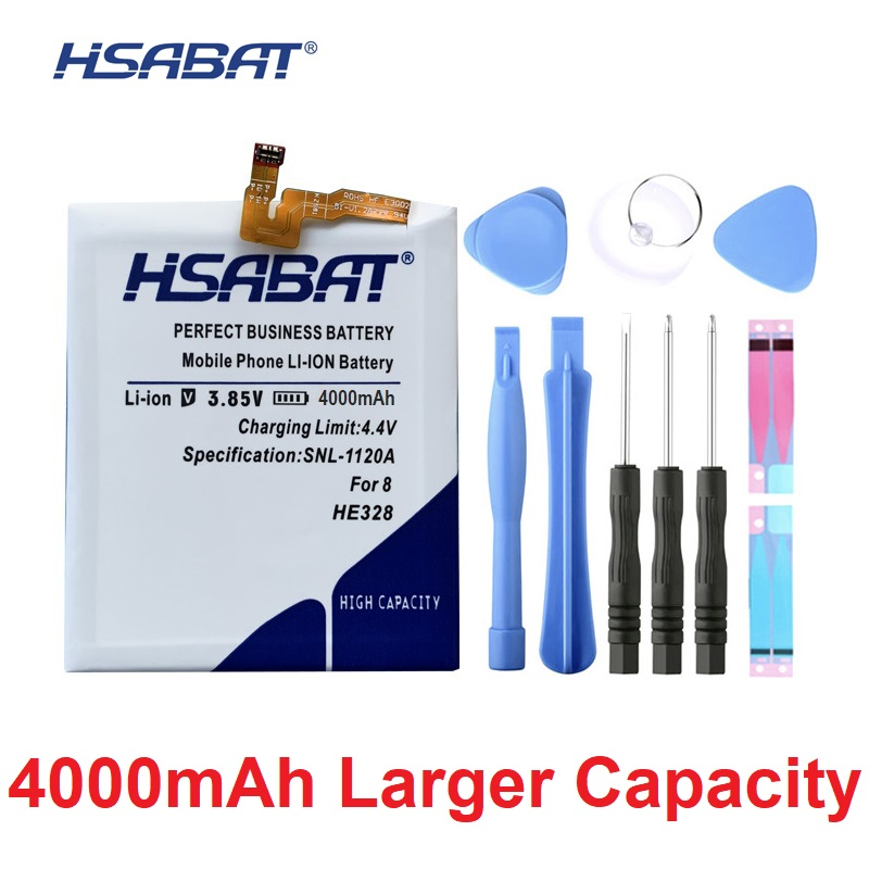 HSABAT Accumulator He328-Battery Nokia8 Mobile-Phone-Replacement For 4000mah Cycle High-Quality