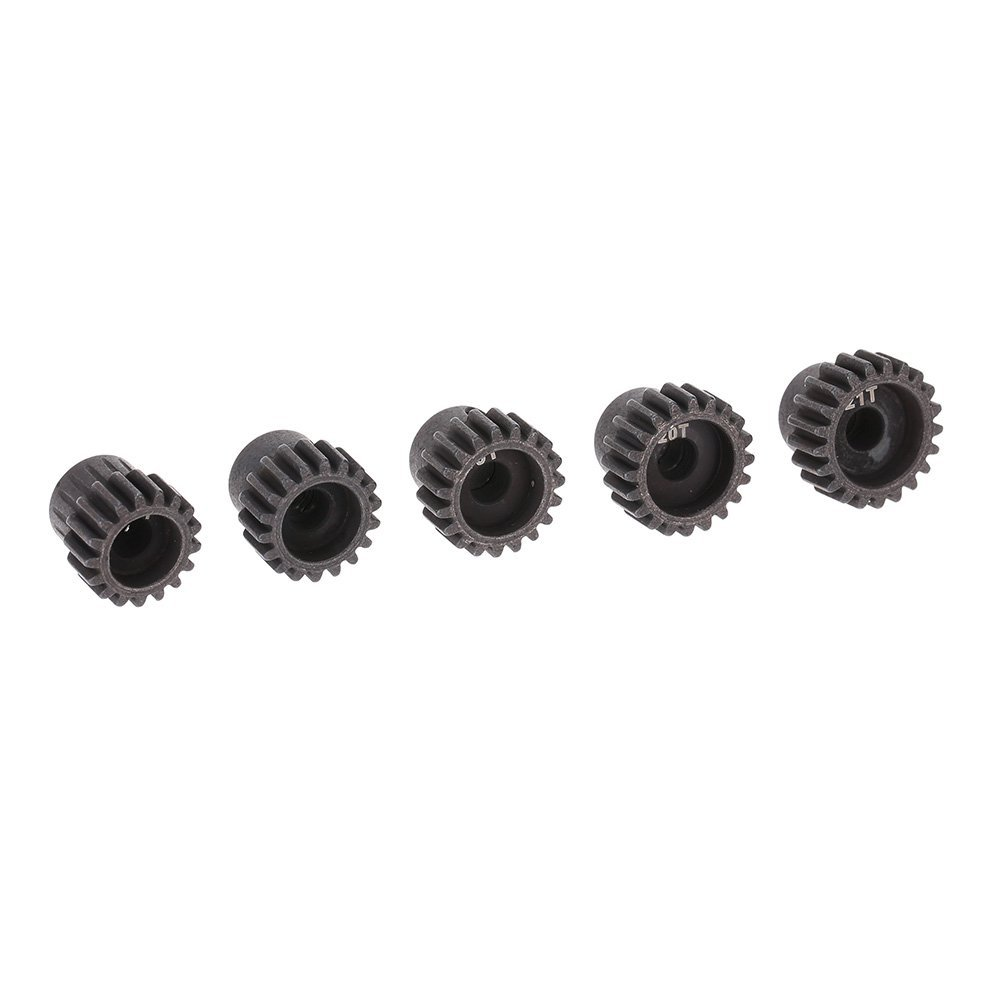 5Pcs 32DP 5mm 17T 18T 19T 20T 21T Motor Pinion Gear Combo Set for 1/10 RC Car Brushed Brushless Motor цены онлайн