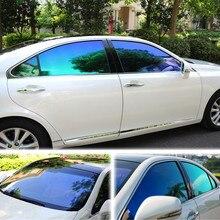 VLT Tint-Film Window-Tint Blue Auto Green 55%Privacy-Tint SUNICE Summer 50--100/200/300/500cm