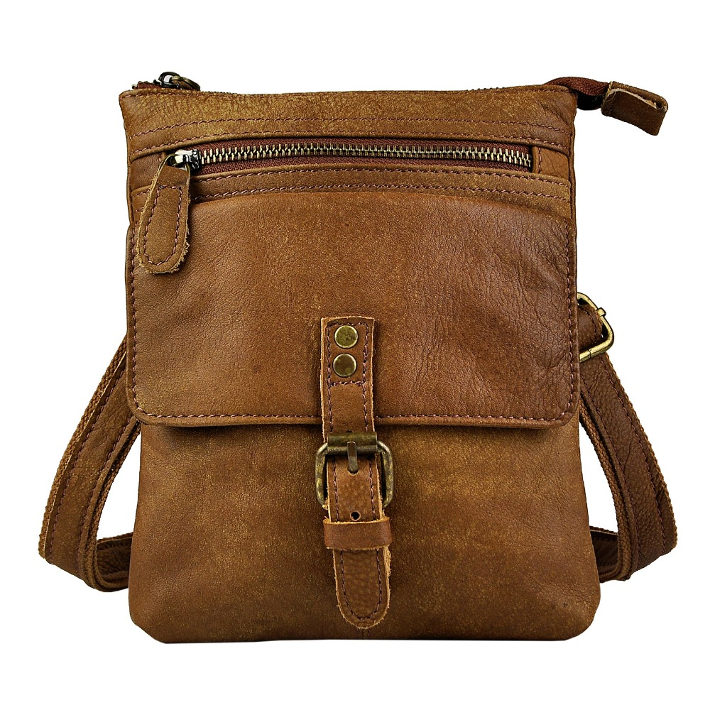 Fashion Leather Multifunction Hook Waist Pack Cross-body Bag 8