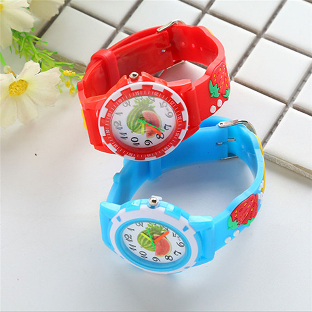 Children Boys Girls Watch Fashion Cute Quartz Watches Bracelet Wristwatches Casu
