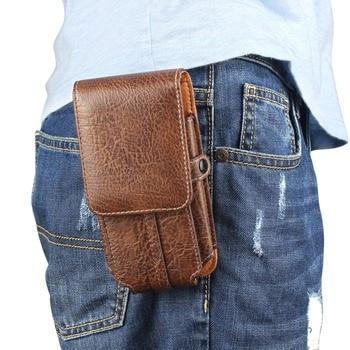 Case For vivo Y53i High Quality Belt Clip Hook Loop Shockproof Leather Pouch For vivo Y53i/Y53/Y55s/Y51/Y35/V3/V1 Phone Case