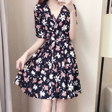 5XL Summer Dress 2019 Womens Dresses Elegant Plus Size Sundress Large Sizes Clothes For Women