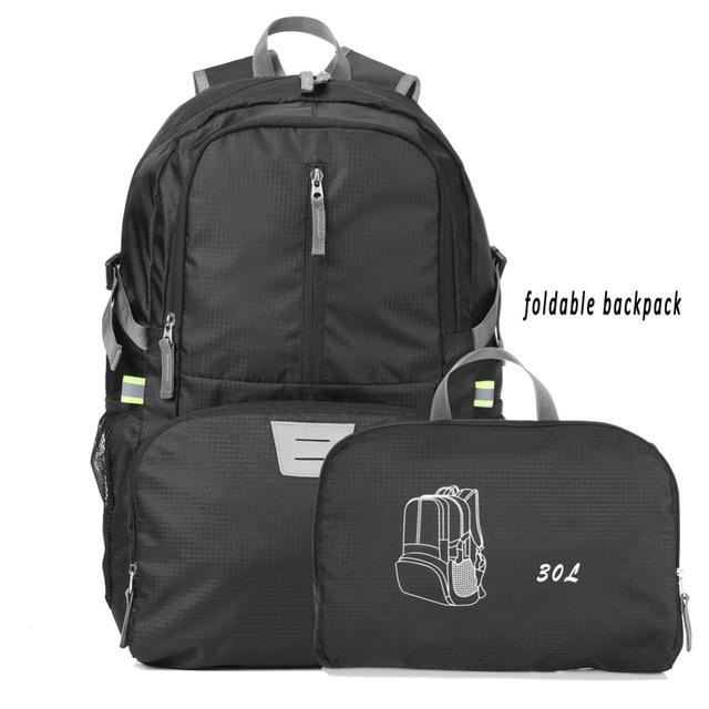 8278ec3d9f4b Lightweight Foldable Packable Backpack Hiking Daypack