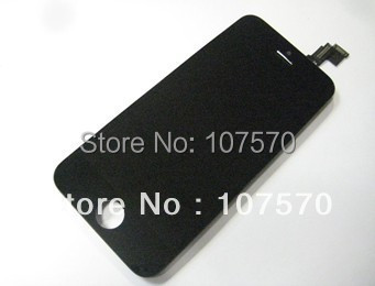Factory price For iPhone 5 5c LCD touch screen high copy front glass Assembly DHL Free Shipping