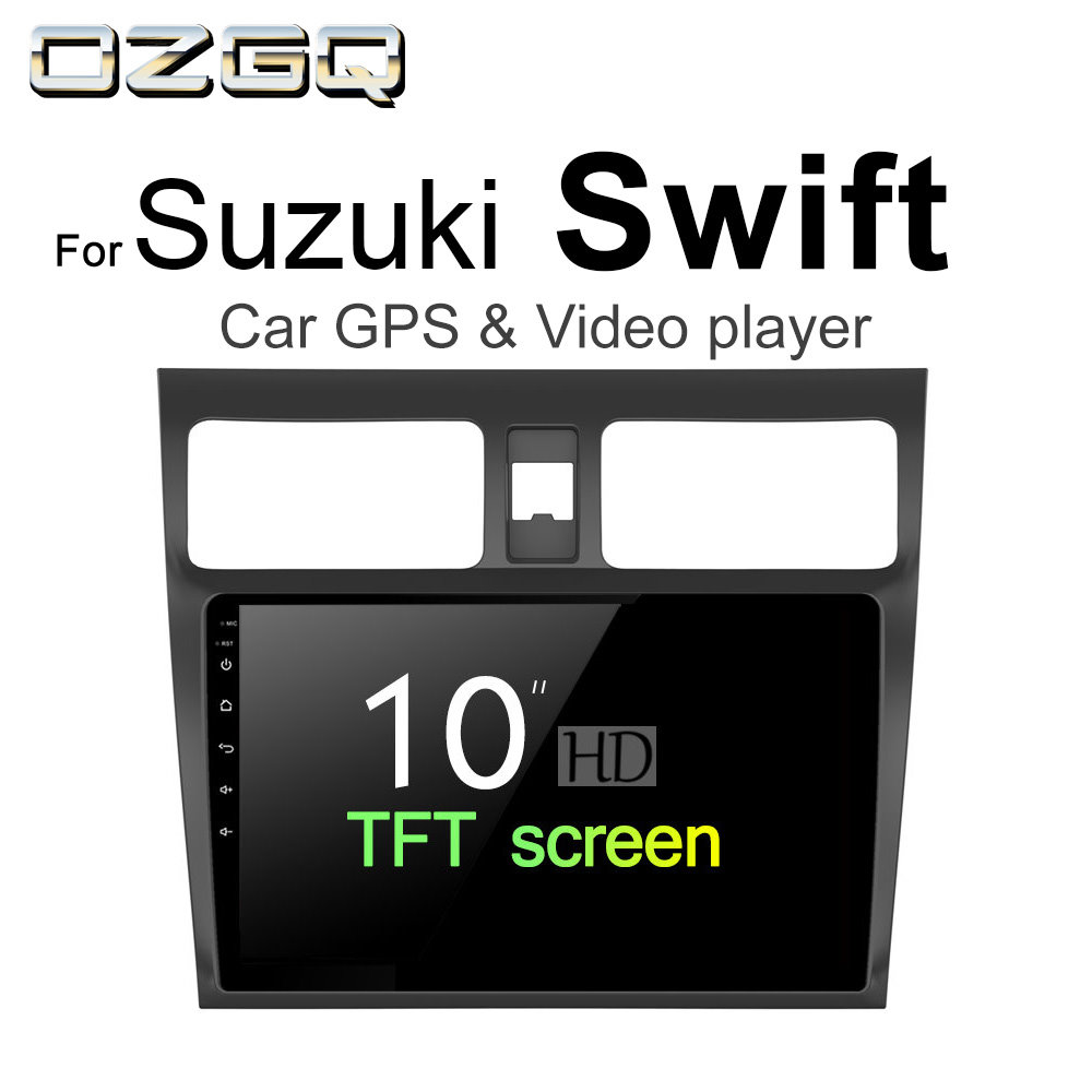 OZGQ Android 7.1 Car Player For Suzuki Swift 2004~2018 HD Screen Auto GPS Navigation Bluetooth Radio TV Audio Video Music Stereo