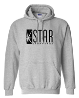 Superman Series Men Hoody STAR S T A R Labs Jumper The Flash Gotham City Comic