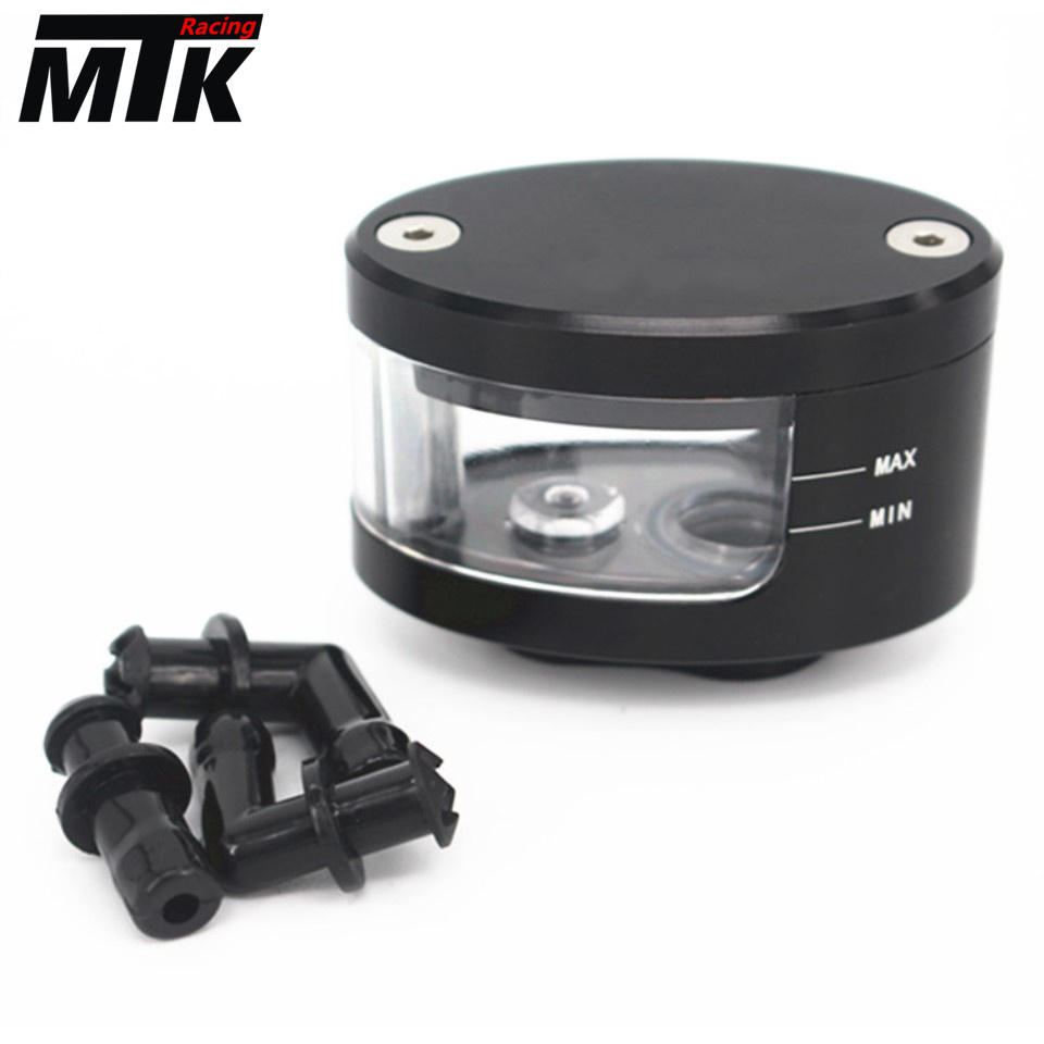 CNC Motorcycle Brake Fluid oil Reservoir Cup tank + support bracket FOR BMW S1000RR HP4 S1000R motorcycle brake fluid reservoir clutch tank oil fluid cup for ktm 125 200 390 duke bmw s1000rr r1200gs kawasaki er6n ninja 300