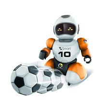 RC robot Kawaii Cartoon Smart Play Soccer Robot Remote Control Toys Electric Singing Dancing Football Robot For Children Kid Toy(China)