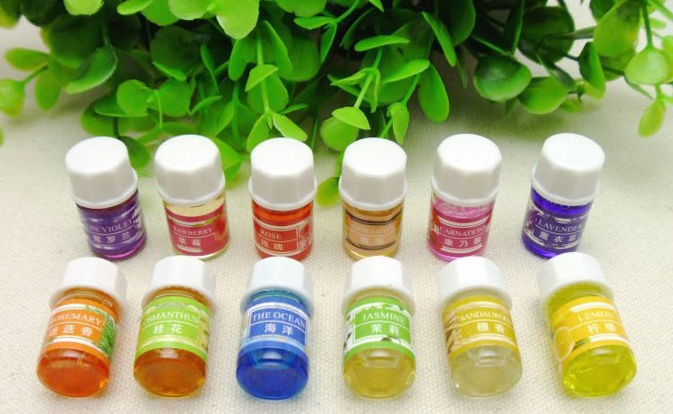 Natural spa humidifier water soluble lavender essential oil 3ml 12 flavor 36 bottle essential oils 21