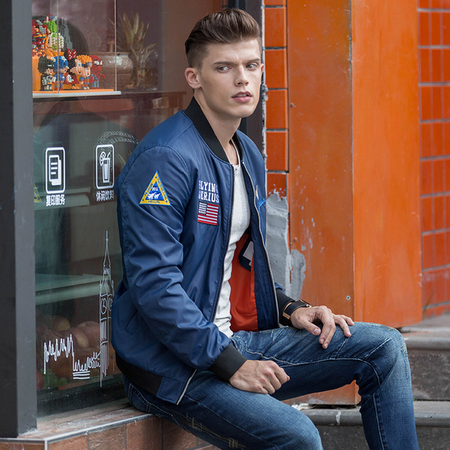 Fashion New Arrival Popular Brand Aeronautica Militare Men Jacket Air Force One Male Brand Clothing Spring Bomber Jackets Mens