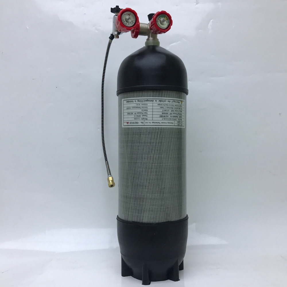 AC10910191 9L Scuba Diving Tank CE 4500psi/30mpa Airsoft Air Guns Compressed Air Cylinder Airrifle ACECARE Buy China Direct 2019