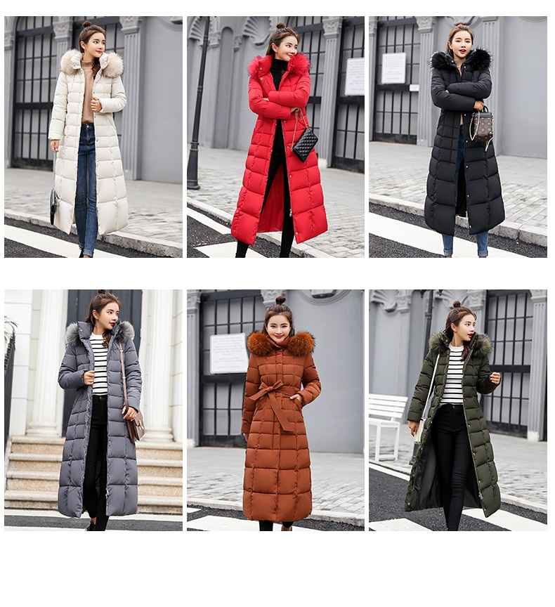 down coat winter belt (1)