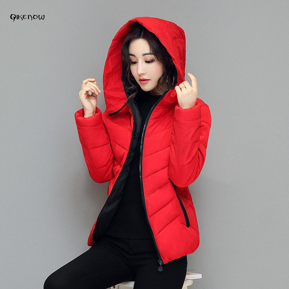 2017 Parka Qikenow Le De D'hiver Blue Bas army Black wine red Chapeau Court Vestes Rouge Green Dames Vers 005 Mode Femmes Occasionnel Dmf 4xl gray Taille Col Manteau Grande dark Red Jassen drPRr4xEwq