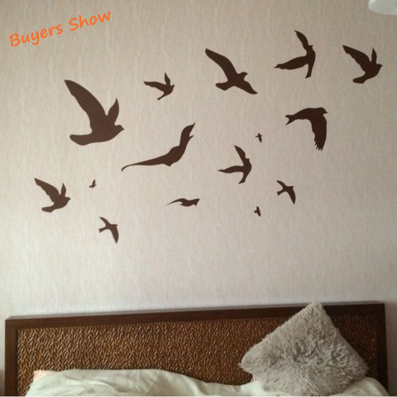 Flying Birds Wall Decor compare prices on flying birds wall- online shopping/buy low price
