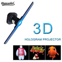 3D Hologram WiFi App Control Advertising Display Led Fan Virtual Reality Hologram Graphics Projection