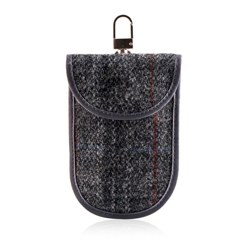 Key Bags Key Fob Signal Blocking RFID Key Fob Protector Shielding Pouch For Car Against Radiation