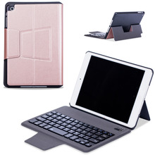New Super Slim Wireless Bluetooth 3.0 Keyboard Case Fold Stand PU Leather Smart Cover For Apple iPad Mini 1 2 3 7.9 inch Tablet