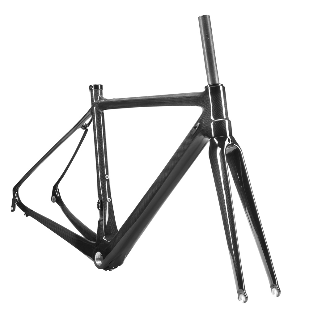 Full Carbon Fiber BICICLETAS Marco Ciclismo Frame Team Road Bike Bicycle Cycling Frameset+Fork+Seatpost 3K Glossy Size 50CM BB68 100mmx250mmx0 3mm 100% rc carbon fiber plate panel sheet 3k plain weave glossy hot