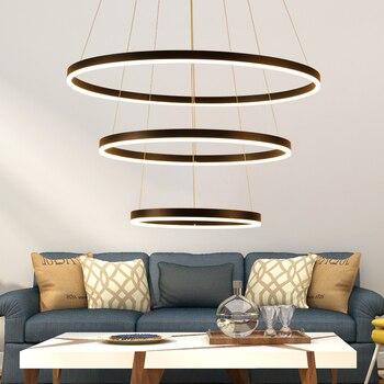 White/Black led pendant lights for diningroom bedroom hanglamp suspension luminaire lamparas de techo colgante moderna