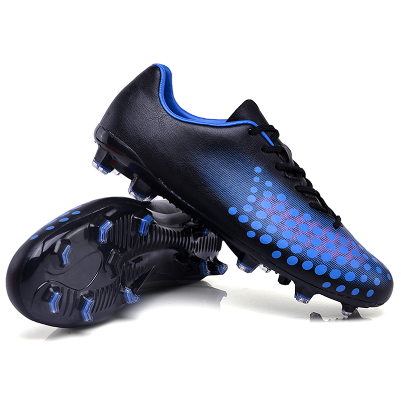 Sufei Men Soccer Shoes FG Football Boots Superfly Cool Kids Unisex Soccer  Cleats Sport Non-slip Training Shoes 6ffa09f8dc557