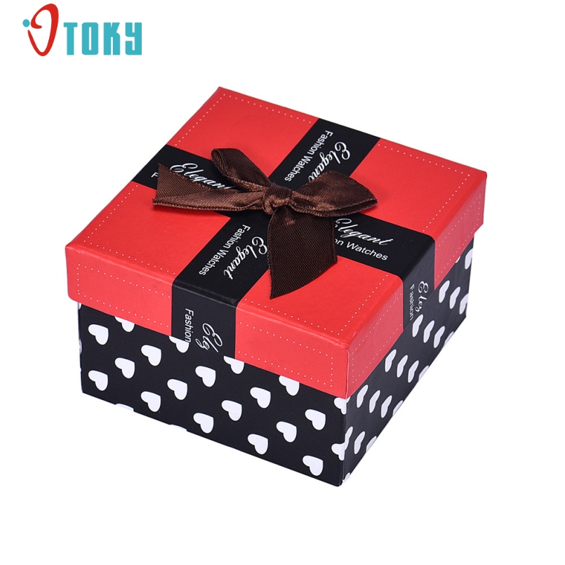 Excellent Quality New Luxury Durable Present Gift Box Case for Bracelet Bangle Jewelry Watch Boxes