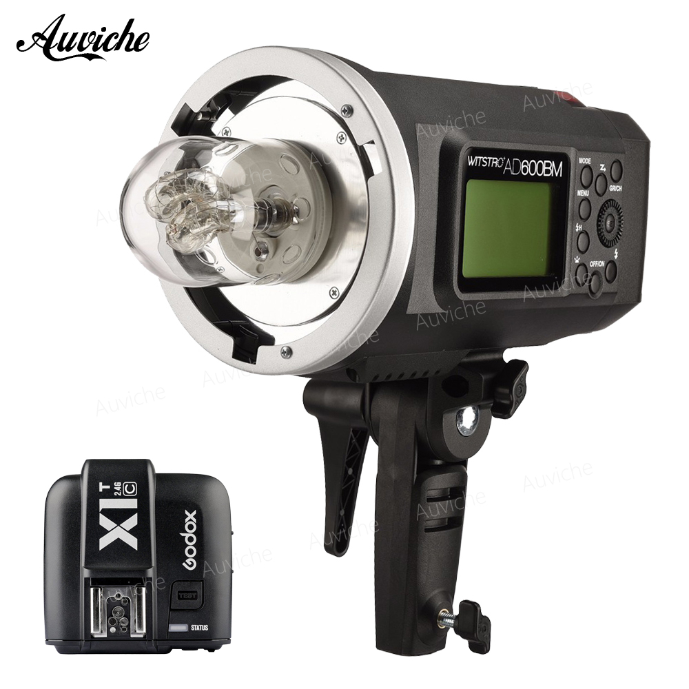 Godox AD600BM 600W Handheld Outdoor Studio Flash Bowens Mount for Nikon Canon sony Fujifilm Olympus godox ad600bm 600w hss gn87 bowens mount flash light or ad600bm x1t c transmitter trigger for canon