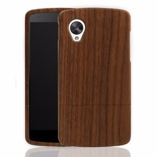 100% Natural Real Wooden Case For LG Nexus Google 5 Nexus5 Cases Bamboo Wood Hard Back Cover For Google 7 Mobile Phone Covers