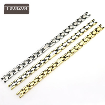 ISUNZUN Stainless Steel Watchbands For Tissot T003/T003.209 Series Metal Bracelet Women Watch Straps Belt Classic Straps
