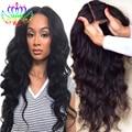 Long Wavy Synthetic Wigs For Black Women Heat Resistant Black Wig For Black Women With Natural Hairline Glueless Lacefront Wigs