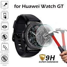 الزجاج المقسى على ل سماعة هواوي GT زجاج واقي Smartwatch واقي للشاشة فيلم المضادة للخدش انفجار برهان 9H Glas