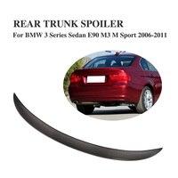 Carbon Fiber Rear Spoiler Trunk Boot Lip Wing For BMW 3 Series E90 Sedan 4 Door 06 11 M3 M Sport 323i 325i 328i 335d 335i