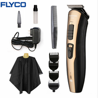 FLYCO Electirc Hair Trimmer Professional Rechargeable Hair Clipper For Men Or Baby Stainless Steel Hair Cutting