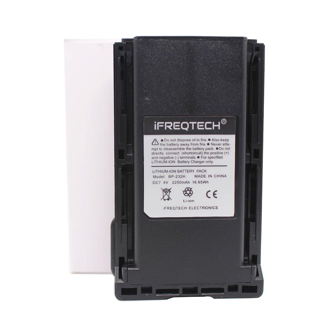 BP-232 BP-232H 2250mAh Battery For Icom Radio IC-A14 A14 F14 F16 F24 F26 F33GS F34G IC-F4021 F3011 IC-F4061 F4161DT/DS T/S F416