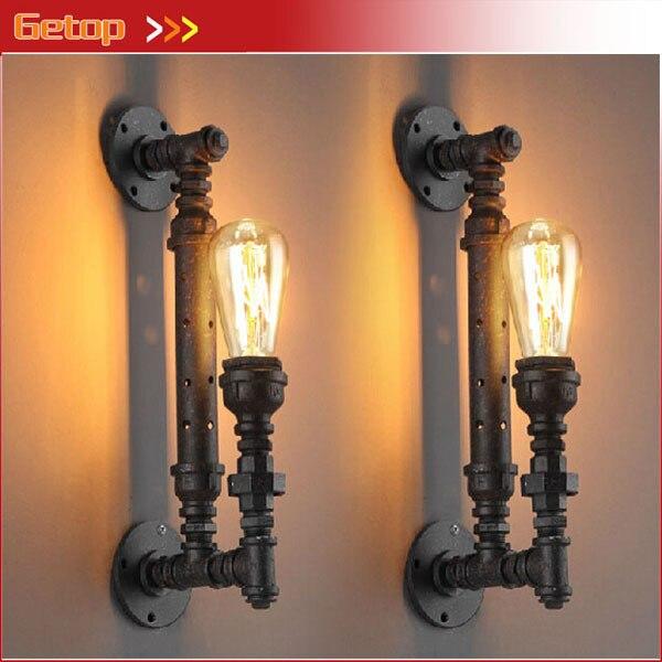 Industrial Lighting Lighting Rustic Light Steampunk: Best Price 1pcs Industrial Rustic Steampunk METAL PIPE