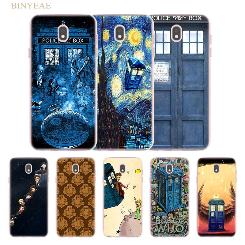 Phone Bags & Cases 249fg Tardis Box Doctor Who Soft Silicone Tpu Cover Phone Case For Samsung J3 J5 J7 2016 2017 J330 J2 J6 Plus 2018 Half-wrapped Case