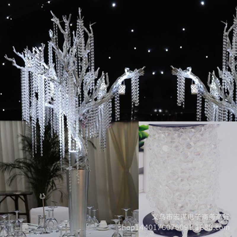 Online Buy Wholesale crystal bead wedding decor from China crystal