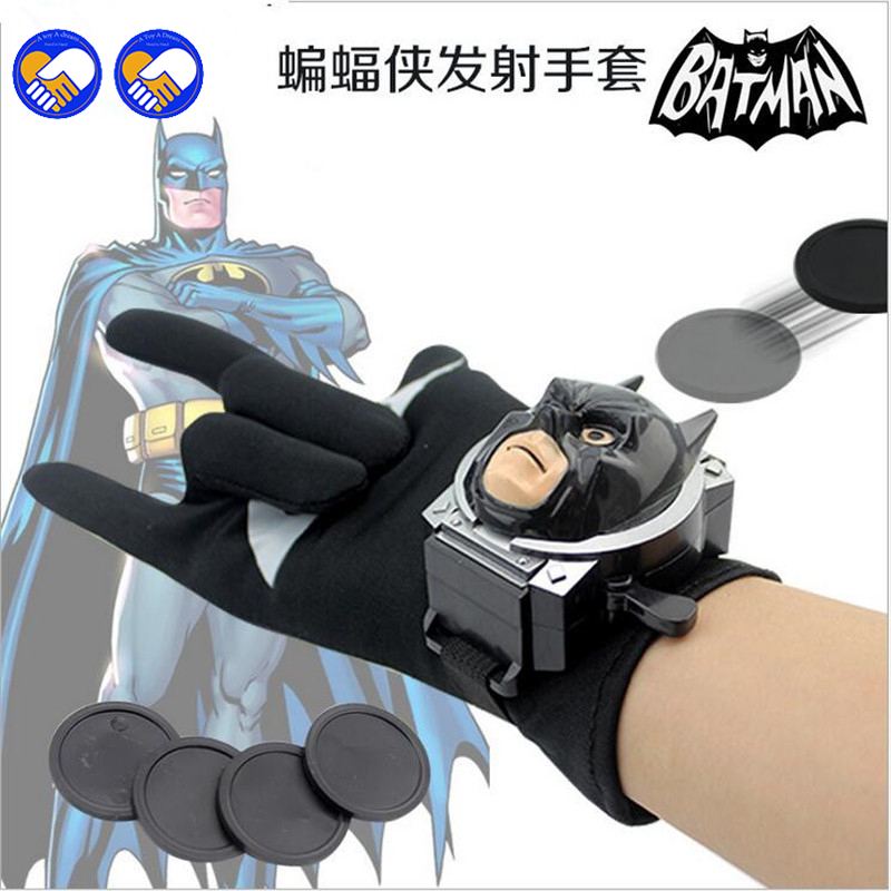 En leksak En dröm Typer PVC 24cm Batman Glove Action Figur Spiderman - Toy figuriner - Foto 2