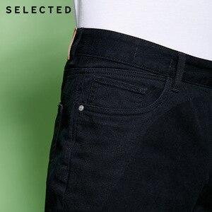 Image 3 - נבחר גברים של אביב 10% כותנה שחור שטף גימור ג ינס מכנסיים C
