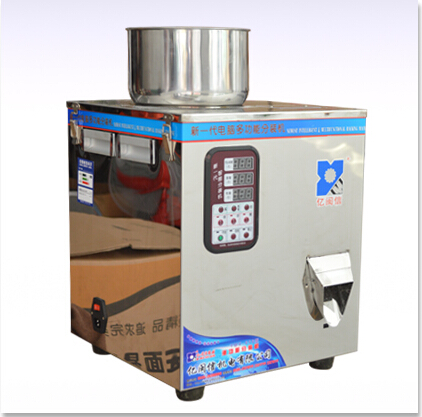 1g-100g powder filling machine ,automatic powder filling machine, special for viscouspowder packaging machine cursor positioning fully automatic weighing racking packing machine granular powder medicinal filling machine accurate 2 50g