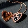 Magia Ikery Foto memória flutuante medalhão Coração Relógio de Bolso Pingentes para Colares de Moda Banhado A Ouro Jóias para As Mulheres A1001