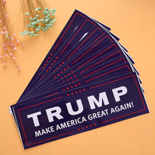 10 Pcs Donald Trump voor President Maken Amerika Grote Weer Bumper Sticker Funny Fashion Creative Laptop Decal Accessoires(China)
