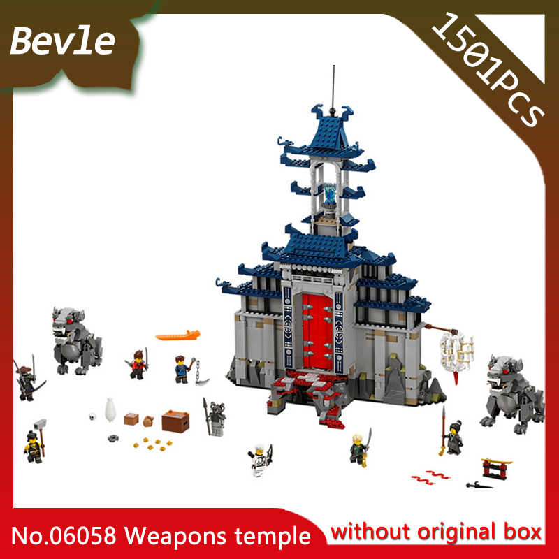 LEPIN 06058 1051Pcs Ninja Series Weapons temple Building Mini Blocks Bricks For Children Toys Gift compatible with Legoing lepin 06058 ninja serie die tempel der ultimative ultimative waffe modell bausteine set kompatibel 70617 spielzeug fur kinder