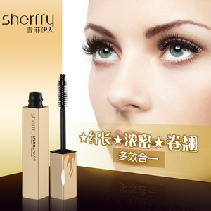Brand Mascara Water-Proof Lenthen Curl Thick Maskara Eyelash Curl 3D Brush Whirl Warp Brilliant Mascara Maquillage Rimel Fiber