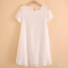 Western Style Lace Short Sleeves